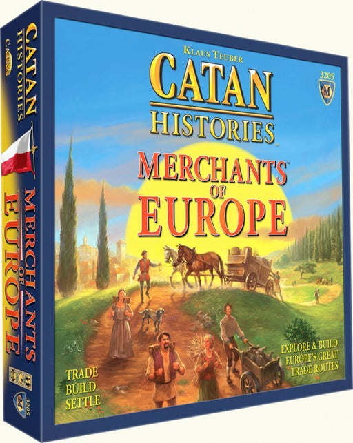 Catan Histories - Merchants of Europe Mayfair Games | Cardboard Memories Inc.