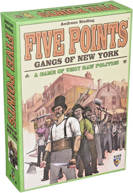 Five Points Gangs of New York Mayfair Games | Cardboard Memories Inc.