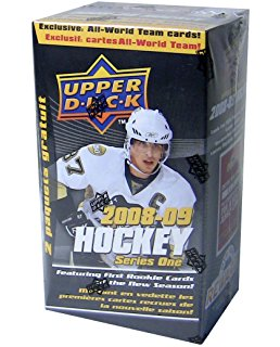 2008-09 Upper Deck Series 1 Hockey Blaster Box Upper Deck | Cardboard Memories Inc.