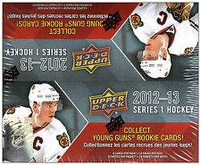 2012-13 Upper Deck Series 1 Hockey Retail Box Upper Deck | Cardboard Memories Inc.
