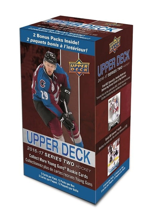 2016-17 Upper Deck Series 2 Hockey Blaster Box Upper Deck | Cardboard Memories Inc.