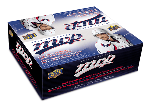 2017-18 Upper Deck MVP Hockey Retail Box Upper Deck | Cardboard Memories Inc.