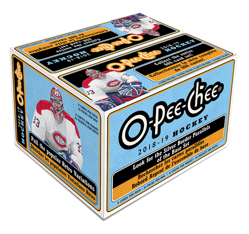 2018-19 Upper Deck O-Pee-Chee Hockey Retail Box