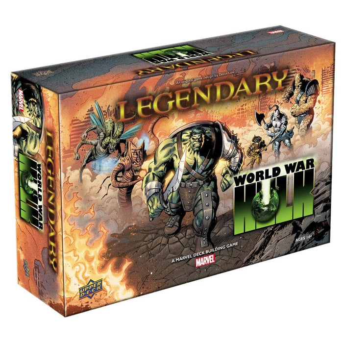 Upper Deck - Marvel Legendary Deck Building Game - World War Hulk Expansion