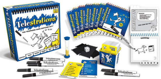 Telestrations Usaopoly | Cardboard Memories Inc.