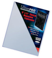 Ultra Pro Top Loaders - 9x11 Thick Magazine Ultra Pro | Cardboard Memories Inc.