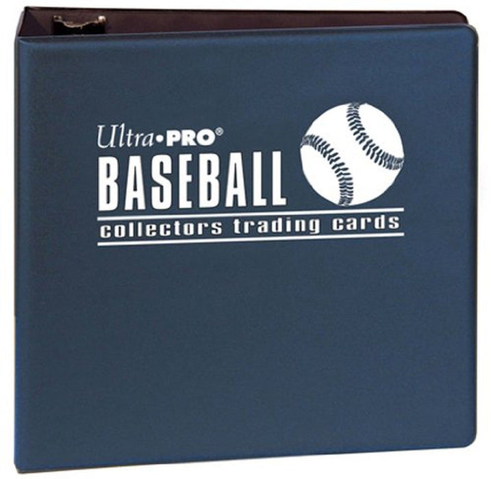 "Ultra Pro Binder - Blue Baseball Binder - 3"" D-Ring Ultra Pro 