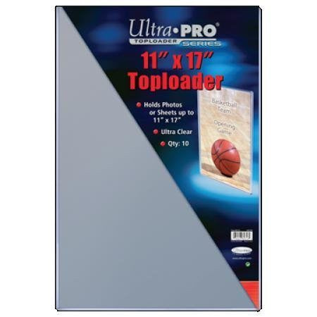 Ultra Pro Top Loaders - 11x17 (10-Pack Combo) Ultra Pro | Cardboard Memories Inc.
