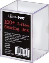 Ultra Pro 2-Piece Box - 100+ Count Gaming Clear Ultra Pro | Cardboard Memories Inc.