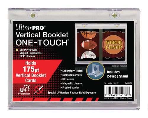 Ultra Pro Magnetized One Touch - Vertical Booklet Ultra Pro | Cardboard Memories Inc.