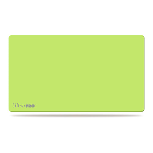 Ultra Pro Playmat - Artist's Play Mat Lime Green Ultra Pro | Cardboard Memories Inc.