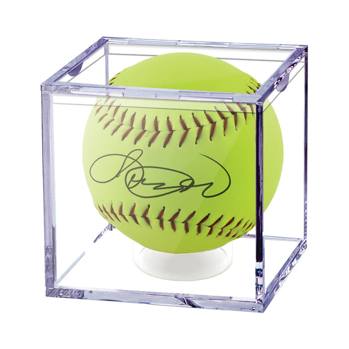 Ultra Pro - Softball Display Cube Ultra Pro | Cardboard Memories Inc.