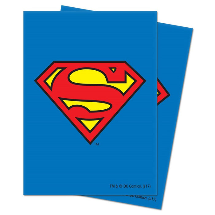 Ultra Pro - Deck Protectors - Standard Size - 65 Count Superman