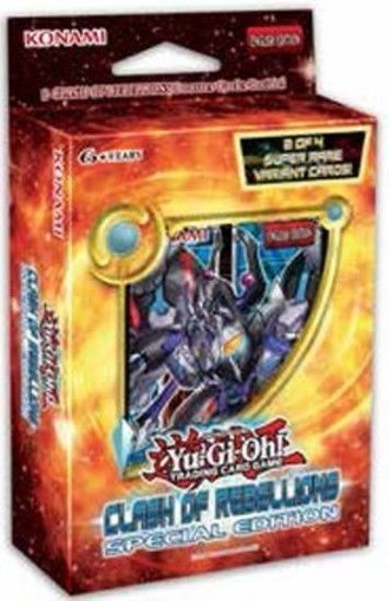 Yu-Gi-Oh! Clash of Rebellions Special Edition Konami | Cardboard Memories Inc.