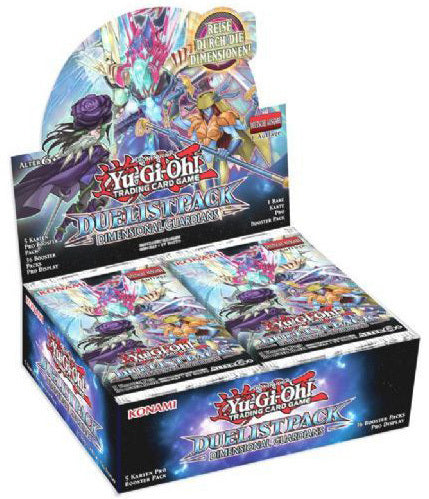 Konami - Yu-Gi-Oh! - Duelist Pack - Dimensional Guardians - Booster Box