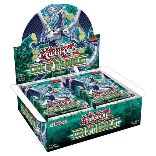 Konami - Yu-Gi-Oh! - Code of the Duelist - Booster Box