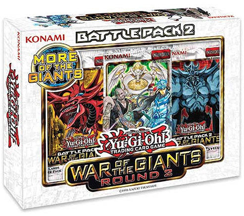 Yu-Gi-Oh! Battle Pack 2 - War of the Giants Round 2 Box Konami | Cardboard Memories Inc.