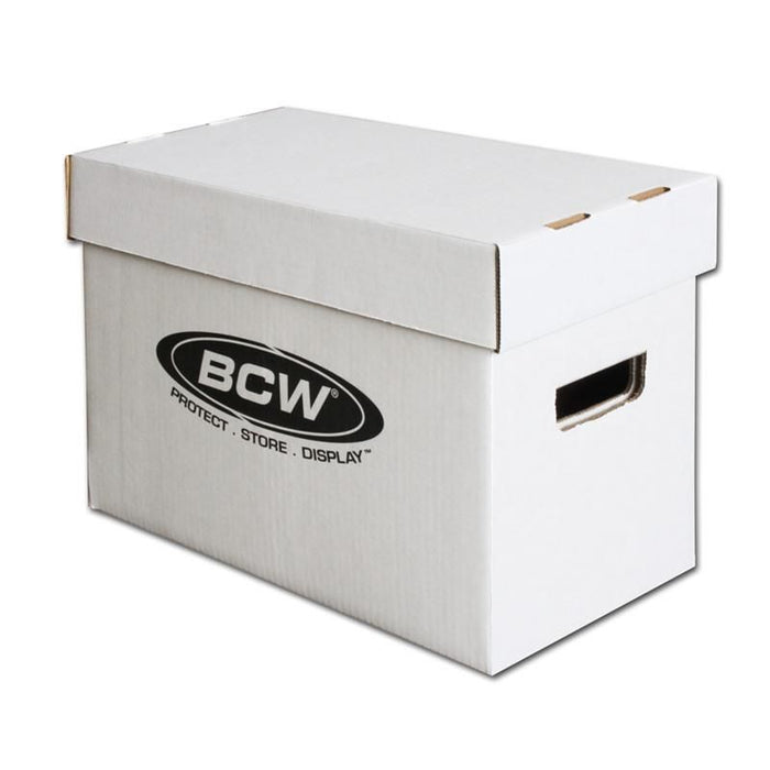 Short Comic Book Storage Box BCW | Cardboard Memories Inc.