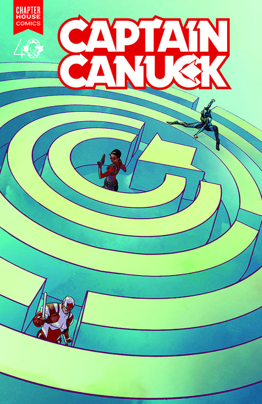 Chapter House Comics - Captain Canuck 008- Cover A- 2497
