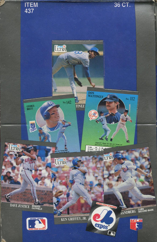 Fleer - 1991 - Baseball - Hobby Box