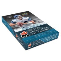 2014 Upper Deck CFL Football Hobby Box Upper Deck | Cardboard Memories Inc.