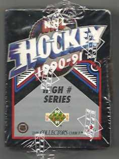 1990-91 Upper Deck Hi Number Hockey Factory Set Upper Deck | Cardboard Memories Inc.