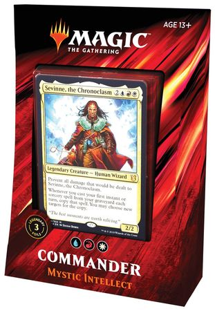 Magic the Gathering - Commander 2019 - Mystic Intellect