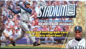 2014 Topps Stadium Club Baseball Hobby Box Topps | Cardboard Memories Inc.