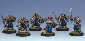 Warmachine- Cygnar Sword Knights Unit PIP 31106 Privateer Press | Cardboard Memories Inc.