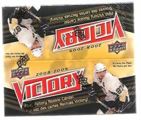 2008-09 Upper Deck Victory Hockey Hobby Box Upper Deck | Cardboard Memories Inc.