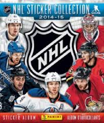 2014-15 Panini Hockey Sticker Album Panini | Cardboard Memories Inc.