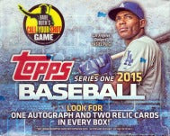 2015 Topps Baseball Series 1 Jumbo Box Topps | Cardboard Memories Inc.