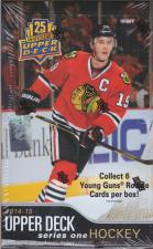 2014-15 Upper Deck Series 1 Hockey Hobby Box Upper Deck | Cardboard Memories Inc.