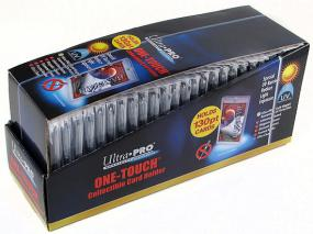 3 X 5 One Touch UV Protected Magnetized Screwdown - 130pt Box of 25 Ultra Pro | Cardboard Memories Inc.