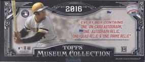 2016 Topps Museum Collection Baseball Hobby Box Topps | Cardboard Memories Inc.