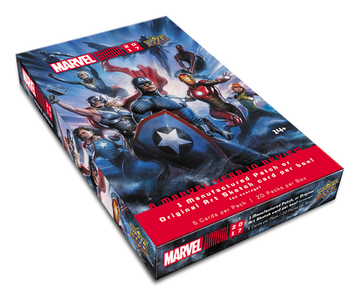 2017 Upper Deck Marvel Annual Hobby Box Upper Deck | Cardboard Memories Inc.