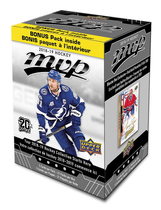 2018-19 Upper Deck MVP Hockey Blaster Box