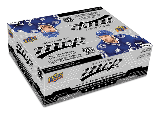 2018-19 Upper Deck MVP Hockey Retail Box