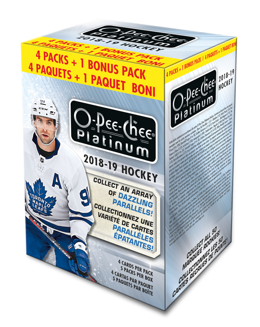 2018-19 Upper Deck - O-Pee-Chee Platinum Hockey - Blaster Box