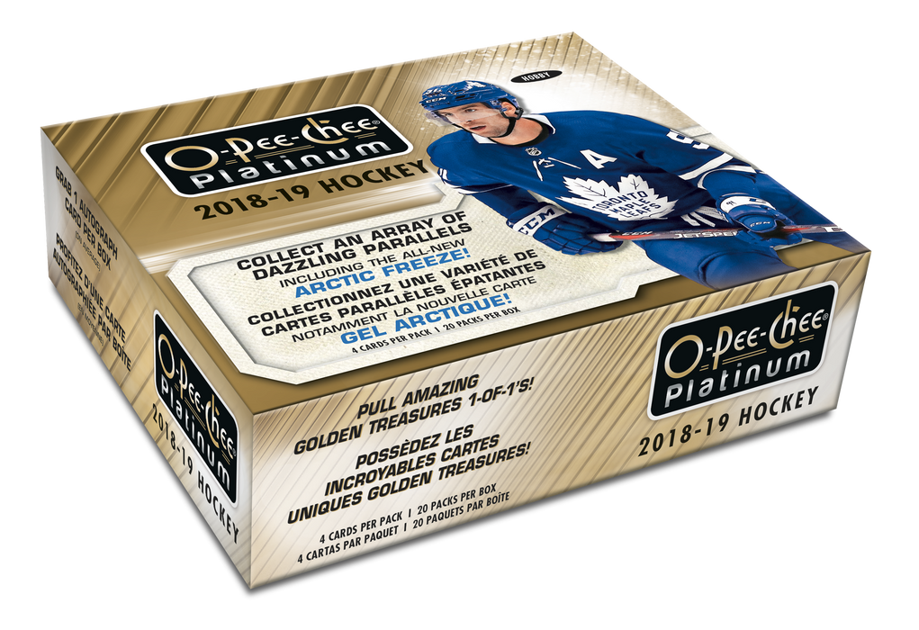 Upper Deck - 2018-19 - Hockey - O-Pee-Chee Platinum - Hobby Box