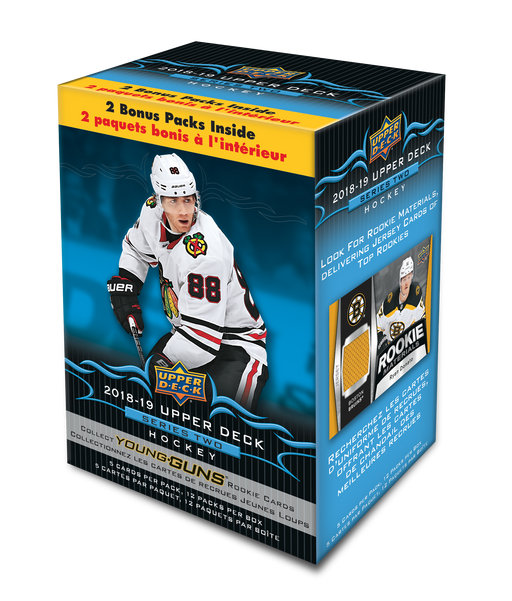 2018-19 Upper Deck - Series 2 Hockey - Blaster Box