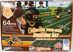 CFL OYO Hamilton Tiger-Cats Endzone Set Oyo Figures | Cardboard Memories Inc.