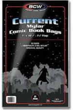 BCW Current Mylar Comic Book Bags - 2 Mil BCW | Cardboard Memories Inc.
