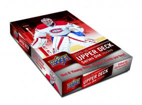 2015-16 Upper Deck Series 1 Hockey Hobby 12 Box Case Upper Deck | Cardboard Memories Inc.