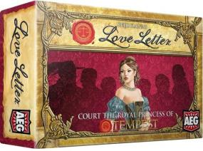Love Letter - Court the Royal Princess of Tempest Alderac Entertainment Group | Cardboard Memories Inc.
