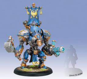 Warmachine- Cygnar Stormclad / Reliant Heavy Warjack PIP 31095 Privateer Press | Cardboard Memories Inc.