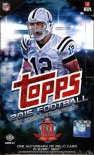 2015 Topps Football Hobby Box Topps | Cardboard Memories Inc.