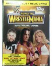 2015 Topps Road to Wrestlemania Blaster Value Box Topps | Cardboard Memories Inc.