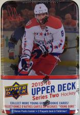 2015-16 Upper Deck Series 2 Hockey Tin Upper Deck | Cardboard Memories Inc.
