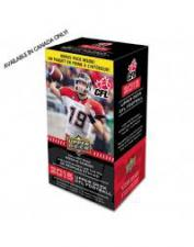 2015 Upper Deck CFL Blaster Box Upper Deck | Cardboard Memories Inc.